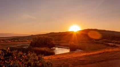 désert des Bardenas Navarre Espagne Eté 2018 Sunset